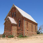 Picture - Old church in Silverton, in the Australian Outback.