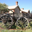 Picture - Old equipment in the Outback of Australia.