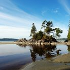Picture - A beach near Tofino in Pacific Rim National Park.