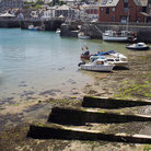 Picture - The waterfront in Padstow.