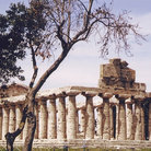 Picture - Archeological site of Paestum on the Amalfi Coast.