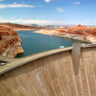 Picture - Glen Canyon Dam.