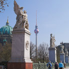 Picture - The Palace Bridge (Schlossbrucke), Unter den Linden. .