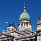 Picture - The dome and roof of the Palace of Congress in Buenos Aires.
