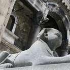 Picture - A sphinx statue at the Palace of Diocletian in Split.