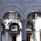 Picture - Arches of the Diocletian's palace in Split.