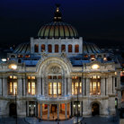 Picture - The Palacio de Bellas Artes in Mexico City.