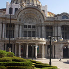 Picture - The ornate entrance to the Palacio de Bellas Artes in Mexico City.