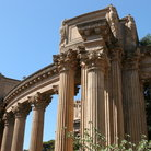 Picture - Columns of the Palace of Fine Arts.