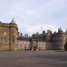 Picture - Holyrood Palace in Edinburgh.