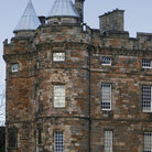 Picture - Detail of Holyrood Palace in Edinburgh.