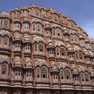Picture - The Hawa Mahal Palace of the Winds in Jaipur.