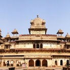 Picture - Courtyard of the Jehangir mahal at Orchha.