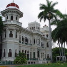 Picture - Unusual building with observation dome in Cienfuegos.