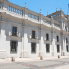 Picture - The  Palacio de la Moneda in Santiago.