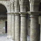 Picture - Columns in the courtyard of the Palacio de los Capitanes Generales in Old Havana.