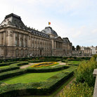 Picture - Gardens of the Royal Palace in Brussels.
