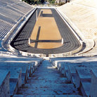 Picture - The Panathenaic Stadion (stadium) in Athens, made of Marble.