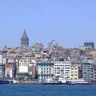 Picture - View of Istanbul with the Galata Tower.
