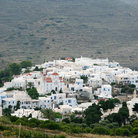 Picture - The village of Pyrgos on the island of Tinos.