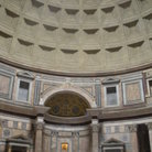Picture - The interior of the Pantheon in Rome.
