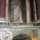 Picture - Tomb of Raphael in the Pantheon in Rome.