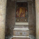 Picture - The painting inside the Pantheon in Rome.