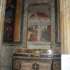 Picture - Painting inside the Pantheon in Rome.