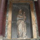 Picture - Tomb of Raphael in Pantheon in Rome.