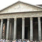 Picture - The Pantheon, the largest surviving temple of the ancient Rome.