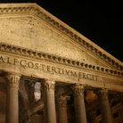 Picture - Pantheon at night in Rome.
