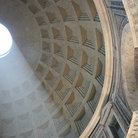 Picture - Interior of the Pantheon in Rome.