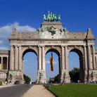 Picture - Triumphal Arch in the Parc du Cinquantenaire, Brussels.