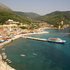Picture - View of the waterfront at Parga.