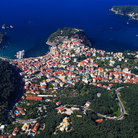 Picture - Aerial view of Parga.