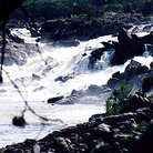 Picture - View of rapids of Rio Caroni as seen from Parque Cachamay in Ciudad Guayana (Puerto Ordaz).
