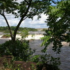 Picture - A view of the Cachamay falls in Ciudad Guayana.