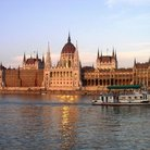 Picture - The Hungarian Parliament in Budapest.