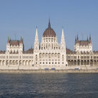 Picture - The Hungarian Parliament located in Pest, Budapest.