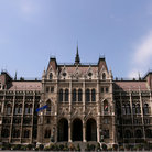 Picture - The Hungarian House of Parliament in Budapest.