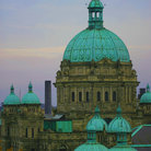 Picture - British Columbia Legislature building in Victoria.