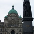 Picture - Victorian architecture of British Columbia Parliament in Victoria.