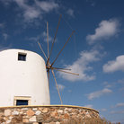 Picture - Windmill on Paros.
