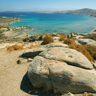Picture - Over looking Noussa Bay in Paros.