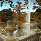 Picture - View of Retiro Park in Madrid.