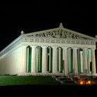 Picture - Evening view of the Parthenon in Nashville.