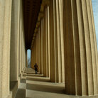 Picture - Columns of the Parthenon in Nashville.