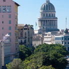 Picture - View over Paseo del Prado in Havana.