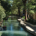 Picture - San Antonio Riverwalk, Texas.
