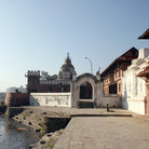 Picture - Bagmati River at Pashupatinath, Kiathmandu.